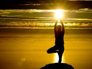 yoga-at-sunset